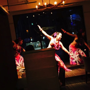 Te Marama Tahiti 金山のタヒチアンダンススタジオ-AOI cafe IZUMI パーティーイベント出演