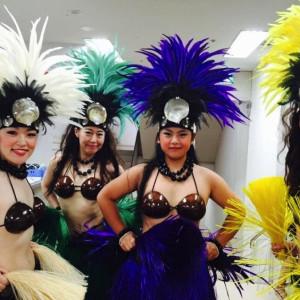 Te Marama Tahiti 金山のタヒチアンダンススタジオ-ハワイアンサマーフェスタ丸栄2015丸栄8階催事場