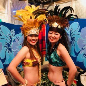 Te Marama Tahiti 金山のタヒチアンダンススタジオ-フラリエウィンターパーティー タヒチアンダンスショー