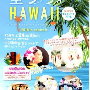 Te Marama Tahiti 金山のタヒチアンダンススタジオ-空フラHAWAII 2018 in centrair