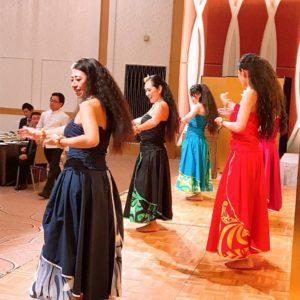 Te Marama Tahiti 金山のタヒチアンダンススタジオ-ホテルプラザ勝川 企業様新年会