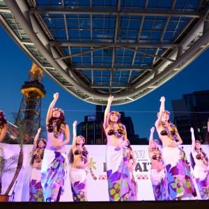 Te Marama Tahiti 金山のタヒチアンダンススタジオ-広小路夏祭り1日目