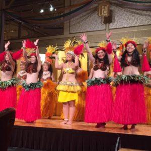 Te Marama Tahiti 金山のタヒチアンダンススタジオ-徳川園ガーデンレストラン 企業様パーティーゲスト出演