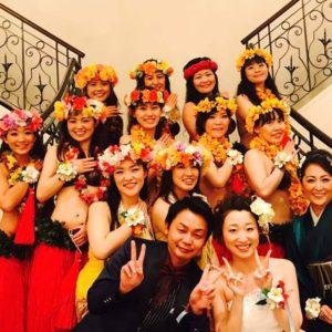 Te Marama Tahiti 金山のタヒチアンダンススタジオ-RISA WEDDING