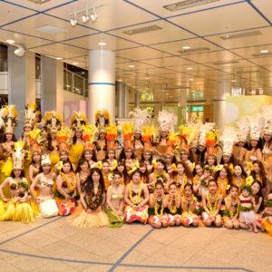 Te Marama Tahiti 金山のタヒチアンダンススタジオ-テマラマタヒチ10周年記念パーティーAREAREA