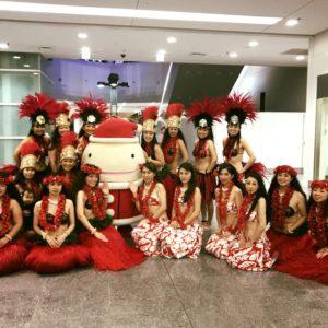 Te Marama Tahiti 金山のタヒチアンダンススタジオ-Centrair Celebration Christmas